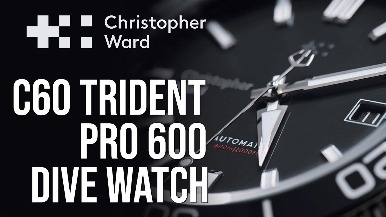Christopher Ward C60 Trident Pro 600
