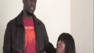 Torrei Hart and Kevin Hart Behind Scenes