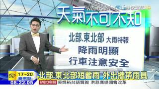 20160224中天新聞 【氣象】強烈大陸冷氣團 清晨低溫新屋11.7度