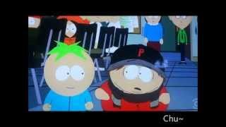 Butters Kiss Cartman