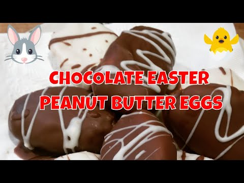 How to make creamy peanut butter eggs