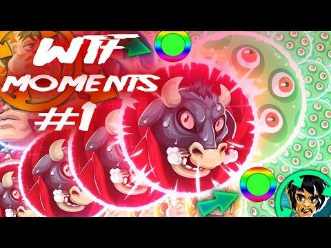 Agar.io WTF MOMENTS! #1 SUPER HACK POPSPLIT ?!!! FAILS & FUNNY Asgard COMPILATION