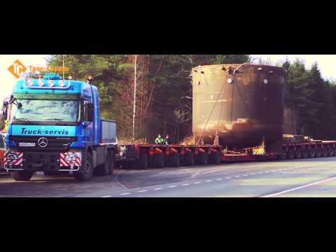 ООО Трак-Сервис перевозки крупногабаритных и тяжеловесных грузов по РФ и СНГ