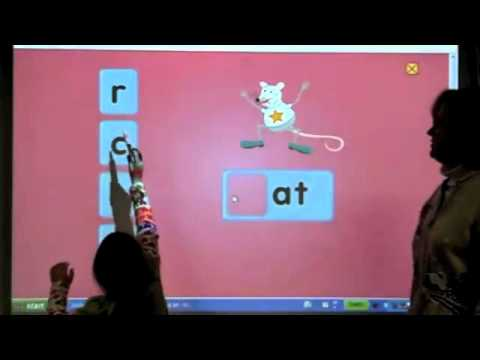 """Smartboard Demonstration with """"Zac the Rat"""""""