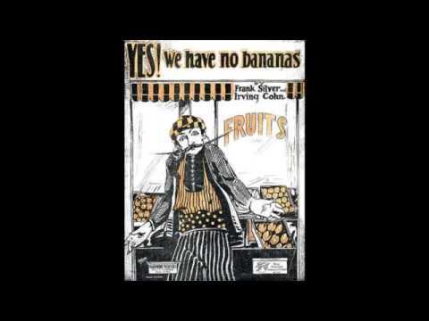 Yes! We Have No Bananas (1923)