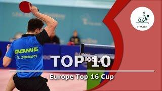 ITTF Top 10 - 2015 Europe Top 16 Cup