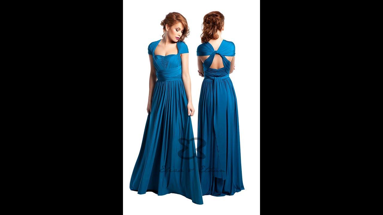 Eliza U0026 Ethan Multi-Wrap Dress Tutorial - Style 13 - YouTube