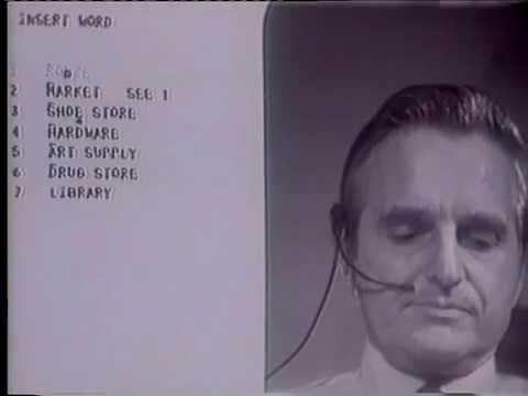 Doug Engelbart 1968 Demo