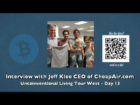 Jeff Klee - CEO of CheapAir.com - Uncoinventional Living Tour West - Day 13