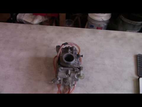 How to Remove Carburetor from Wr/Yz250f