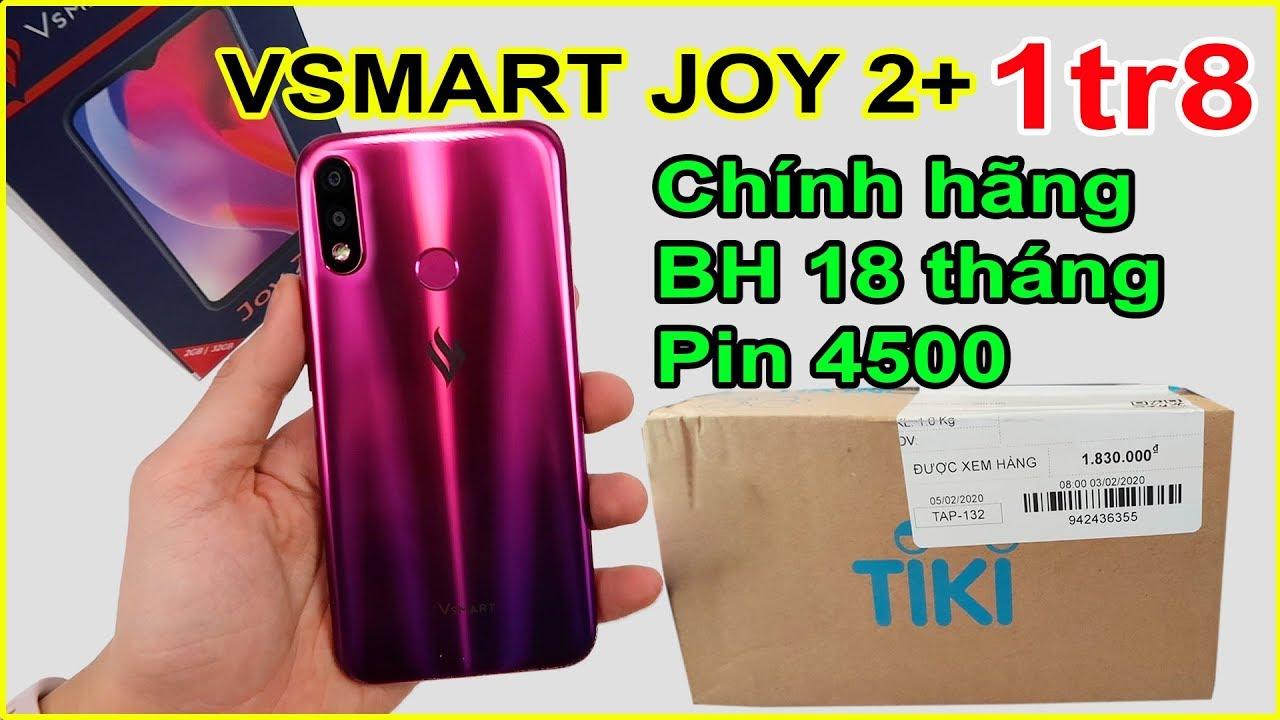 Mở hộp Vsmart Joy 2 Plus giá 1tr8 trên TIKI. Quá ngon, quá bất ngờ! | MUA HÀNG ONLINE