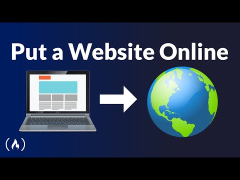 How to Put a Website Online: Template, Coding, Domain, Hosting, and DNS