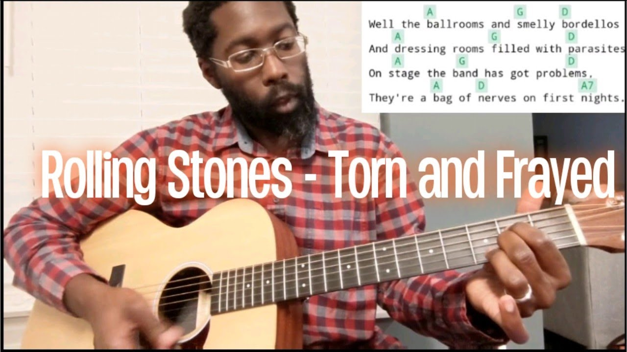 Rolling Stones   Torn and Frayed Guitar Lesson, Easy Guitar