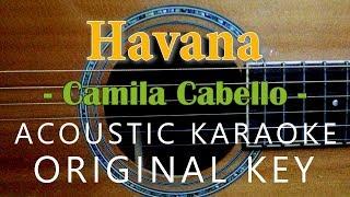 Havana - Camila Cabello [Acoustic Karaoke]