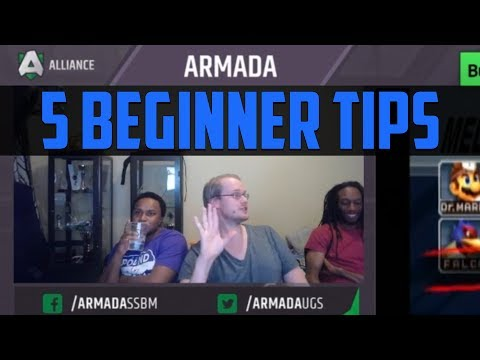 Armada's 5 Tips for Beginners - Super Smash Bros.