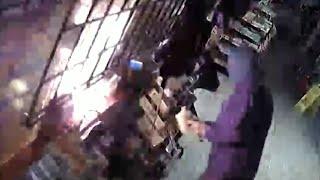 New videos of arson suspect
