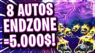 🚗💶😂5.000$ FALL SKIRMISH CHALLENGE! | 8 Autos Endzone + Win = 5.000$