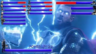 Download AVENGERS INFINITY WAR Final Battle ... With Healthbars | Battle in Wakanda: Wakanda Forever ? (HD) Mp3 and Videos