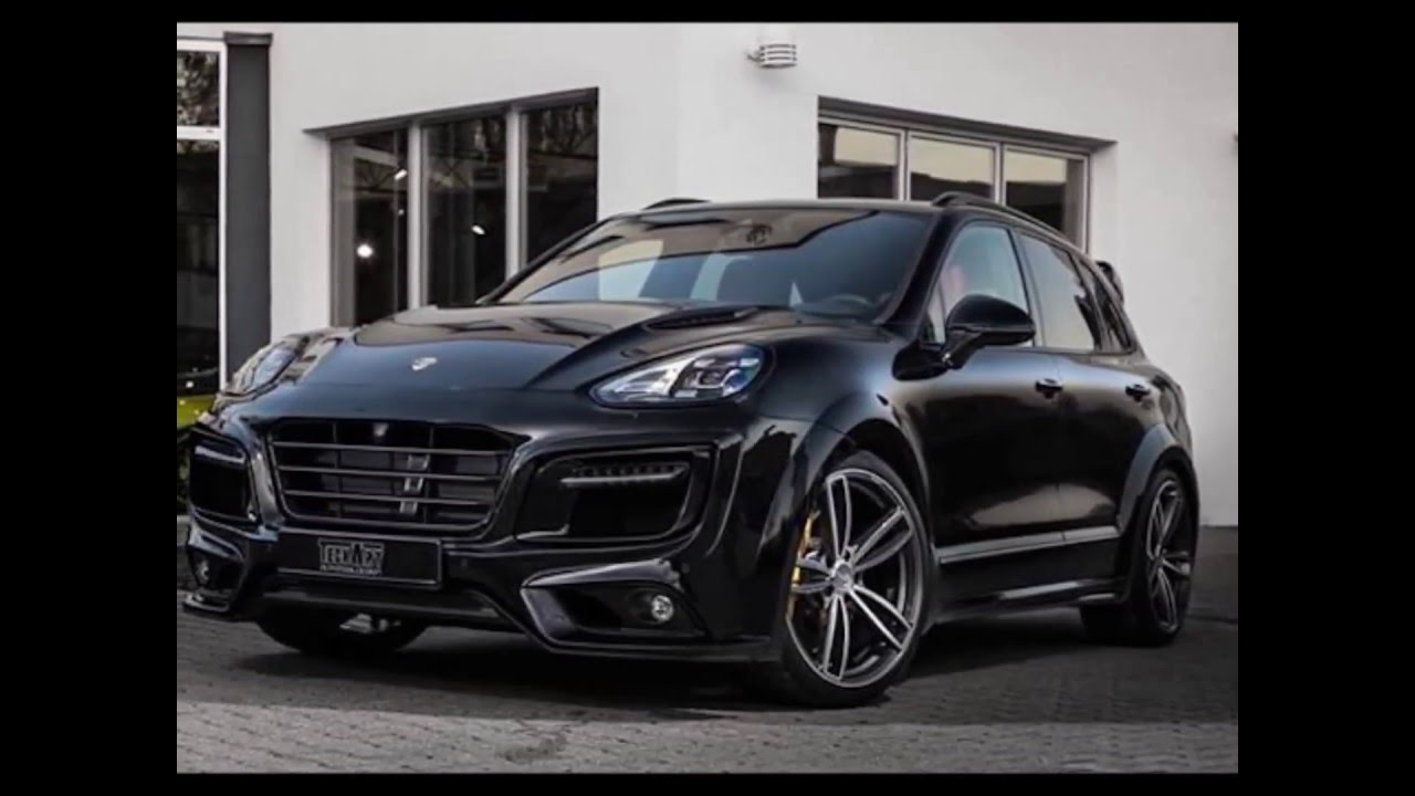 techart porsche cayenne magnum looks mean in black 2015 2016 youtube. Black Bedroom Furniture Sets. Home Design Ideas