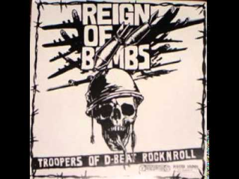 REIGN OF BOMBS (sweden) split 12´´LP...