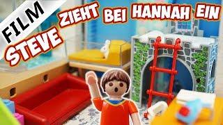 Playmobil Film Deutsch STEVE ZIEHT IN HANNAHS ZIMMER EIN! STEVE FÜR 1 WOCHE BEI FAMILIE VOGEL!