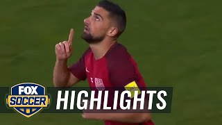 Sebastian Lletget scores early goal for USA vs. Honduras | CONCACAF World Cup Qualifying
