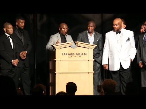 Floyd Mayweather Jr. Nevada Boxing Hall of Fame 2015 Fighter of the year speech- full video