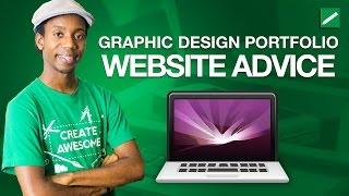 Graphic Design Portfolio Website Advice