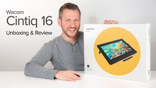 Wacom Cintiq 16 & Stand Review - Is this the Cintiq for everyone?