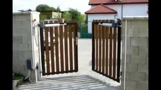 видео Автоматические ворота DoorHan ширина 2500 высота 2500