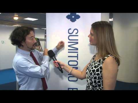 The ECOC Exhibition 2014 - Keith Iwai - Sumitomo Electric