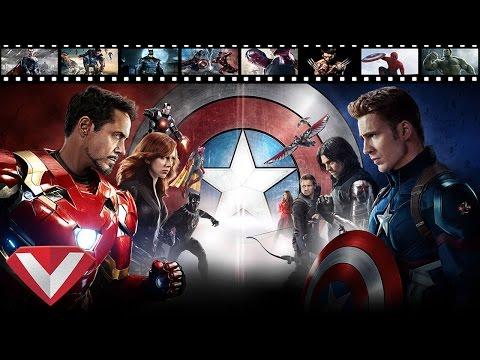 Top 10 Khoảnh Khắc Hay Nhất Captain America Civil War