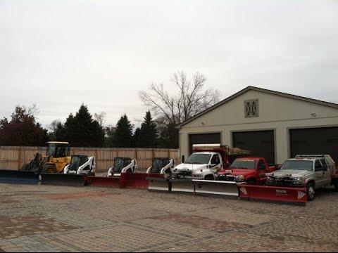 How We Do Snow Plowing & Removal at A & J Porfilio Landscape Contractors, Inc