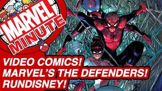 Video comics! Marvel's The Defenders! - Marvel Minute 2016