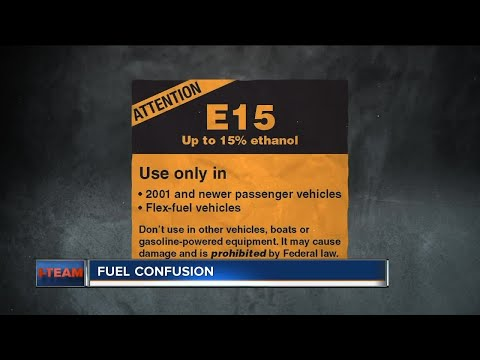 New E15 gas fueling confusion at the pump
