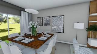 House Plan Virtual Tour - 3 Bedroom House - 1,216 Square Feet