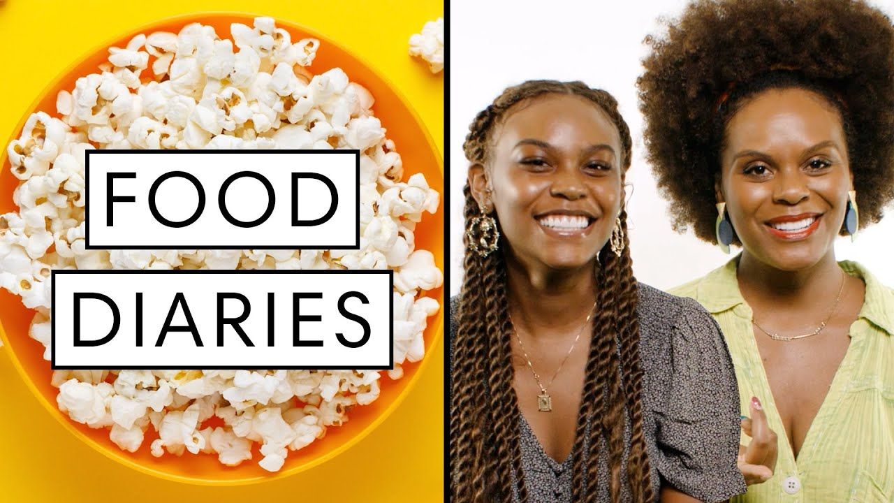 Everything Vegan TikTok Stars Tabitha & Choyce Brown Eat in a Day | Food Diaries | Harper's