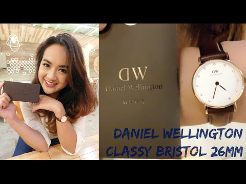 UNBOXING + First Impression Daniel Wellington Watch Classy Bristol 26mm | DW Review