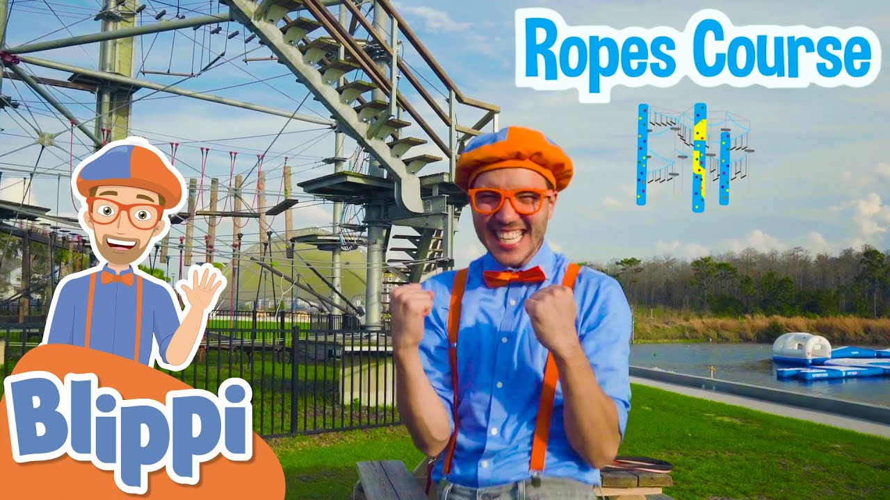 Blippi Visits an Adventure Park! | Learn With Blippi For Kids | Educational Videos For Toddlers