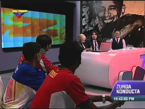 ZKVTV entrevista a Marvin Blanco, corredor que ganó CCS Rock con un afiche de Robert Serra