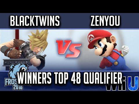 Frostbite 2018 Smash 4 Singles WINNERS TOP 96- EMG   Blacktwins vs eM   Zenyou (Mario)