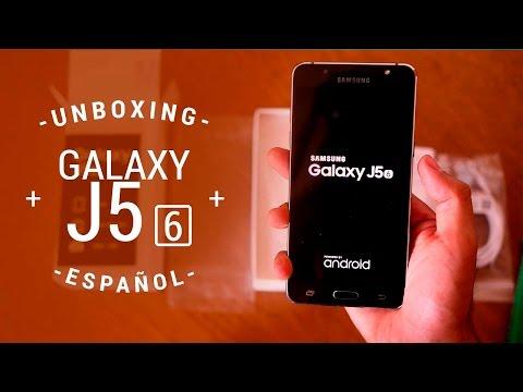 Samsung Galaxy J5 Metal (2016) - Unboxing en español