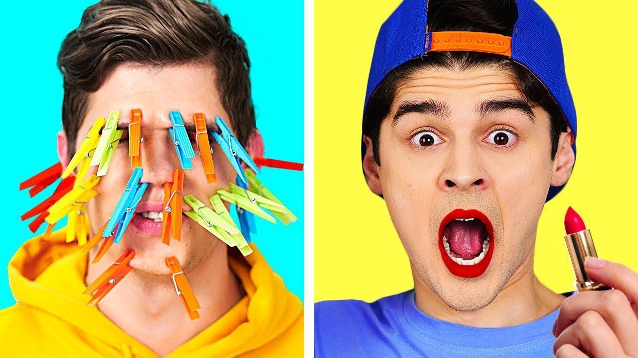 ¡DESAFÍOS GENIALES EN 30 SEGUNDOS! || Bromas y trucos divertidos de TikTok por 123 GO! BOYS