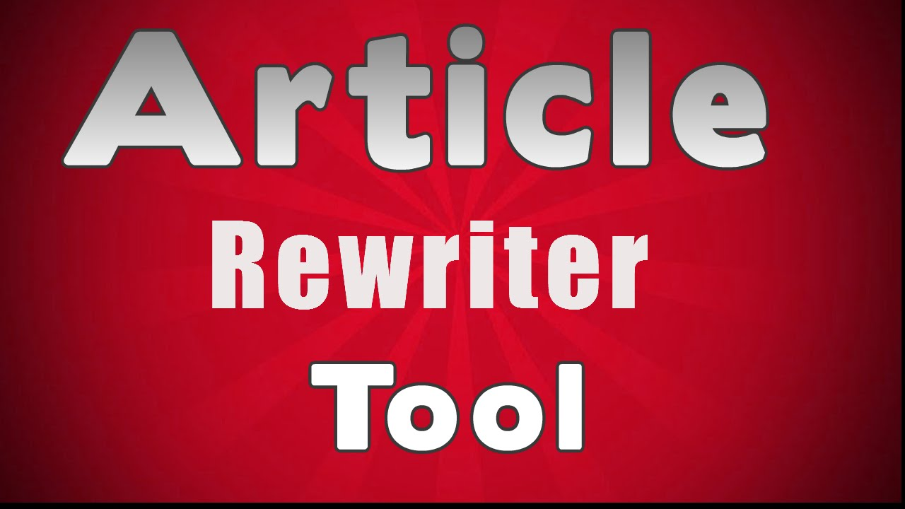 Image result for Article Rewriter Tool