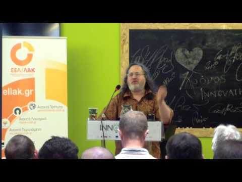Richard Stallman on «The Danger of Software Patents»