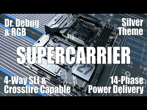 ASRock Z270 Supercarrier Review: The Best of the Best - YouTube