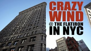 The Crazy Winds at the Flatiron Building in New York City | Wind Simulation