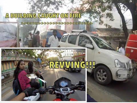 REV Bombing Girls!!! + BURNING BUILDING : Bangalore reactions 33