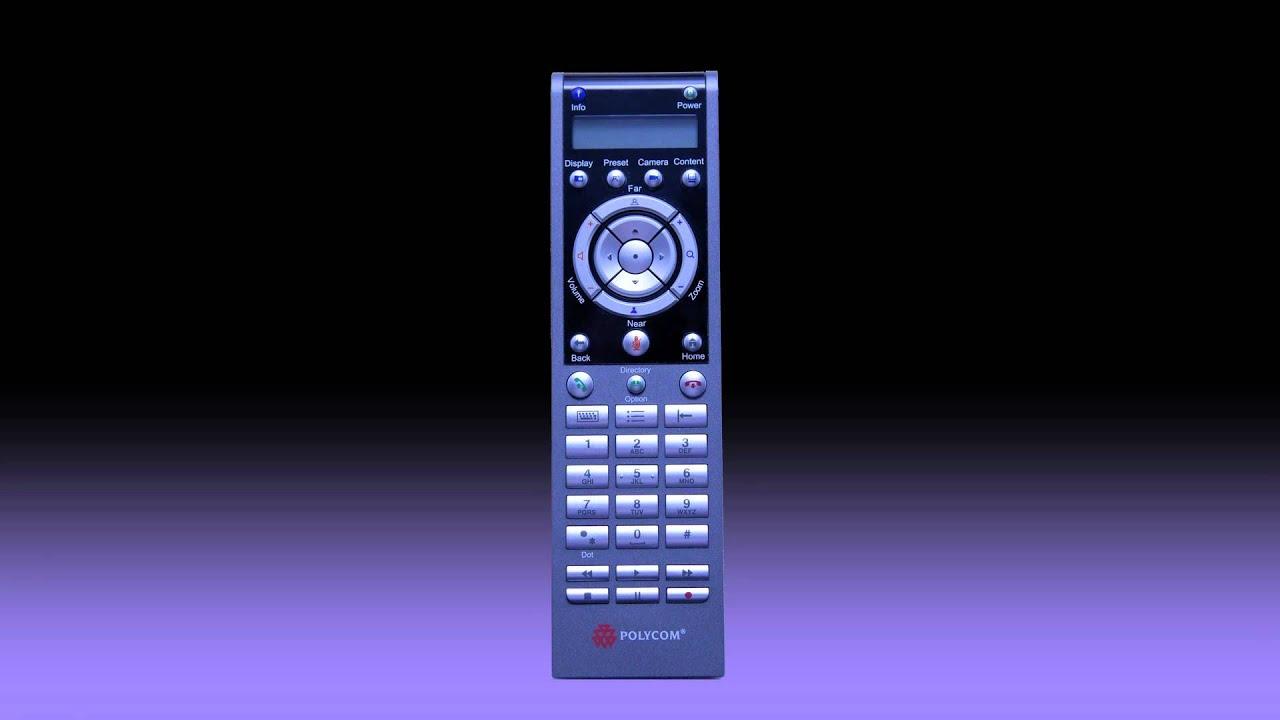 how to use the polycom hdx remote control youtube rh youtube com polycom qdx 6000 installation manual polycom hdx 6000 technical manual