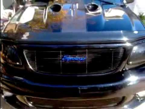 600hp Blacked Out Ford Svt Lightning Youtube